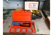Sterret Kit, Rivet Gun, etc.