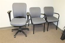 3 PCS OF OFFICE CHAIR SET