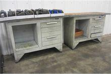 (2) Equipto Workbenches & (2) W