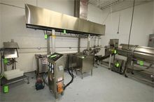 S/S Continuous Fryer with Exhau