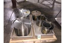 One lot 7 Stainless Steel pail