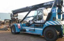 2003 SMV 108 TA6 Reach Stacker