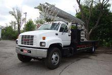 2000 GMC Topkick Sign truck wit