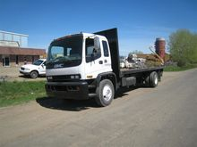 1999 GMC T7500 FLATBED TRUCK