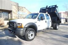2007 Ford F-450 Dump box,crew c