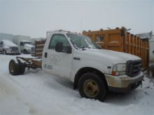 2003 Ford F350 CAB AND CHASSIS