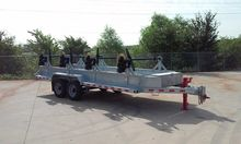 2014 Galvanized 4-Reel Trailer