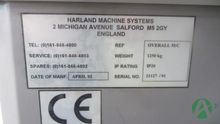 2002 HARLAND MACHINE SYSTEMS JU