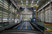 2014 HNK HPM-50L CNC Double Col