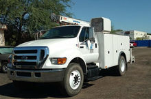 2005 FORD F750 XL Truck - Mecha