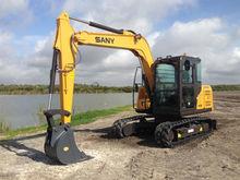 2015 SANY SY75C Excavator - Cra