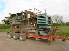 Brown Lennox Mobile Crusher