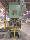 150 Ton Danly Open Back Inclina
