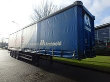 2007 Schmitz Cargobull Curtains