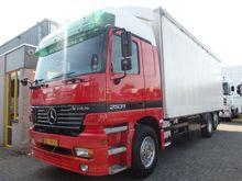 2001 Mercedes Benz ACTROS 2531