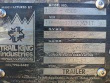 1984 TrailKing 50 Ton Low Boy T