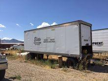 Small storage trailer