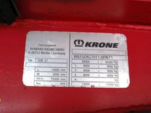 Used 2003 Krone Box