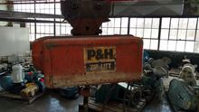 1/2 ton P&H cable hoist with ma