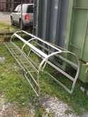 10' fixed safety cage ladder 30