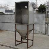 bag dump station, 7 cu ft