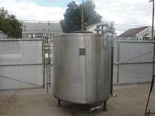 615 gallon vertical, conical Bo