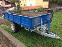 Galassi G33 TR Cariage trailers