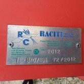 2012 RACITI B40/3SI Ploughs