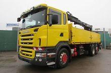 Scania R 420 6x2 BL  HIAB 166 -