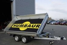 2017 Humbaur DIVERSE aanhangers