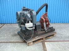 Vacuumpomp met motor