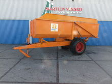 SIEGER BAV 6 ton kiepwagen