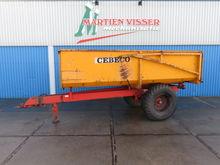 1982 Cebeco 7 ton kieper kipper