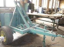 Winch for timber skidding