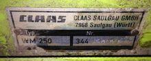 1990 Claas WM 250, gezogenes Tr