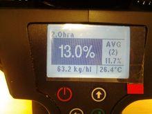 Wile grain moisture meter 200 h