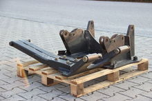 Hauer snow plow with support