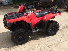 2015 Honda TRX500FA5 ATV