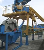 Gravel screening-washing-plant