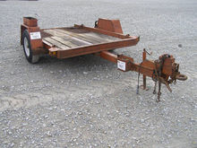 1983 Ditch Witch Tag Trailer