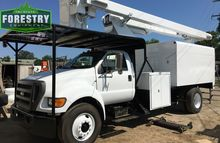 2005 ford F750 60 foot forestry