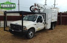 2003 Ford F550, 42 foot forestr