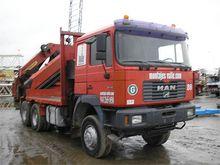 2000 MAN 33414 DFAC 6x6 GRUA PK