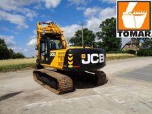 2013 JCB JS220LC Track excavato