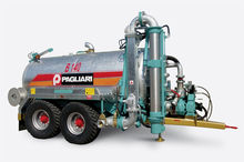 Two-axle slurry tankers B 120 -