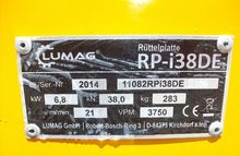 2016 Sonstige Lumag RP-i38DE Rü
