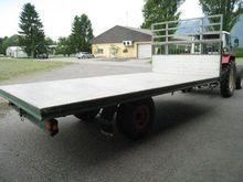 Sonstige Plattformwagen 5 m x 2