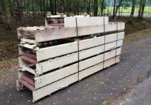 Steel with roller conveyor Pneu