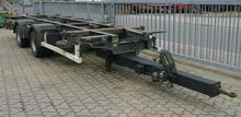 Krone ZZW 18 trailer, swap body