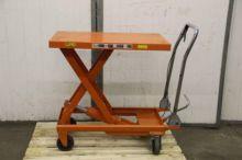 Used Scissor Lift Table Trolley 500 Kg for sale  Kraft equipment